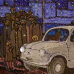 Reinvenzione Torino di notte di Casorati