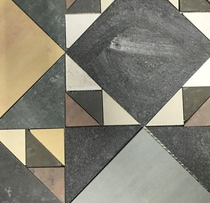 Roman's tile - Andrea Besana Mosaicista Torino